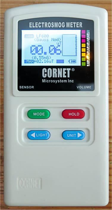 Cornet ET88T Plus EMV-Messgerät
