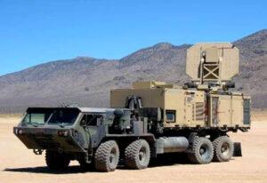 Die Millimeterwellen-Waffe ADS ('Active Denial System') System der US-Arme (95 GHz).