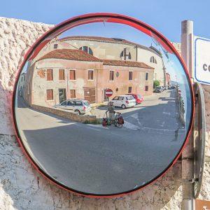 H.C. mit dem (Falt-)Rad (Birdy!), Zelt und Camping-Kocher in Italien unterwegs...