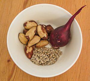 Sehr Selenhaltige pflanzliche Nahrungsmittel