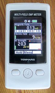 Tenmars Multi-Field EMF Meter (bis 3,5 GHz)