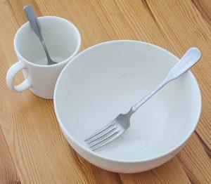 Schüssel für alles Essen + Tasse