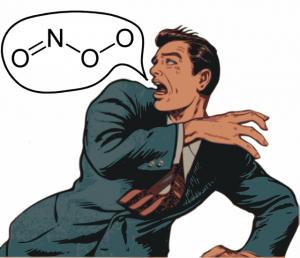 Peroxinitrid (ONOO) - als Folge der NO-Synthase Entgleisung, was dann Tyrosin & Tryptophan zerstört.