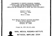 US Navy Report (Glaster, 1976) zu den Auswirkungen von Mikrowellen-EMF.