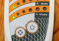 ESI 24 EMF-Messgerät - alle drei Messgrößen (HF, MF, EF) im grünen Bereich