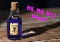 Sind Vitamin B6, B9 (Folat) und B12 gefährlich? Aus meiner Sicht nicht so, wie einige uns ggf. denken machen wollen.