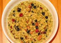 Fertig ist das Porridge-Obst-Leinsamen & Co. Müsli!