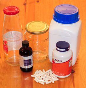 Verschiedene Varianten der Vitamin-C-Zufuhr.
